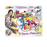 Unbekannt Soy Luna Erstellen Sie Ihr Eiskunstlauf-Tagebuch, Kreatives Set (Diset 46592)