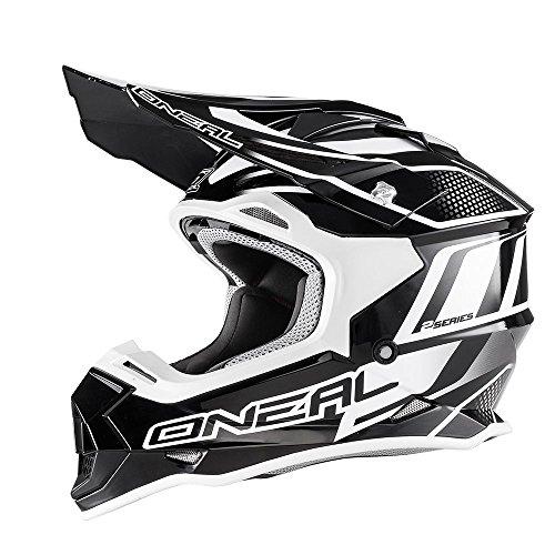 0200-002 - Oneal 2 Series RL Manalishi Motocross Helmet S Black White