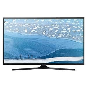 """Samsung Poll Flat UHD Serie KU6050 Smart TV da 55"""", Nero"""