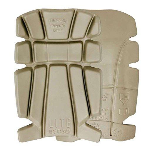 Snickers 9112Lite D30bietet einen großen Knieschoner Schutzpolster für Handwerkerhose