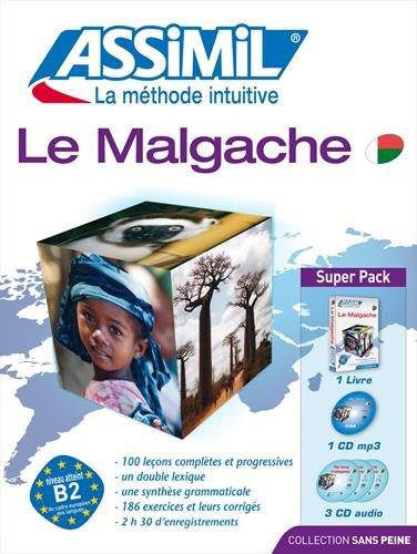 Le Malgache: livre + 3 CD audio + 1 CD mp3