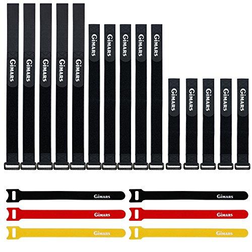 gimars-21pcs-tiras-velcro-con-diferentes-longitudes-y-colores-para-organizar-cables-en-casa-oficina-