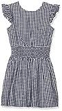 NAME IT Mädchen NKFFILALA CAPSL DRESS Kleid, Blau (Dark Sapphire), (Herstellergröße: 164)