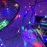 w.p. LED Net Licht für Weihnachtsdekoration, Wasser und Sonnenschutz, Hochzeitsdekoration, Straßenbeleuchtung, Farbiges Licht 1.5 * 1.5 m 96 LED
