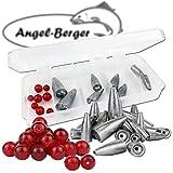 Angel Berger Texas Carolina Bleisortiment mit Box gemischt