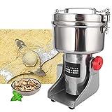 Macinacaffè per cereali da 1000 g, macinino per macinazione a secco di cereali integrali per uso domestico mini grinder elettrico(Unione Europea)