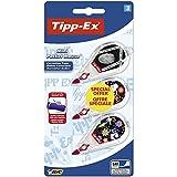 Tipp Ex Mini Pocket Mouse Korrekturband, 912277 Standard 3 Stück