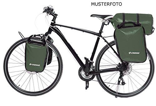 CROSSO DRY SMALL CO1010 30L Fahrradtasche Bike Gepäckträgertasche Gepäcktasche olivgrün