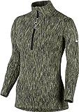 Nike Damen Pro Hyperwarm Trainingsshirt, grün, Small