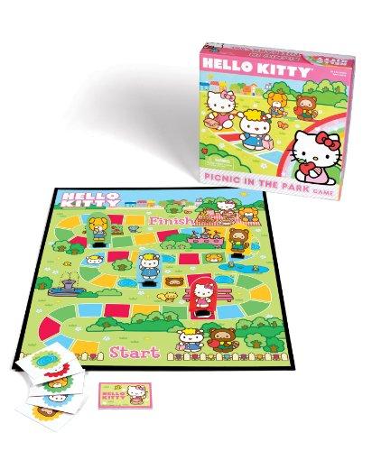 Pressman - Juego de Tablero Hello Kitty, 4 Jugadores (4652) (versión en inglés)