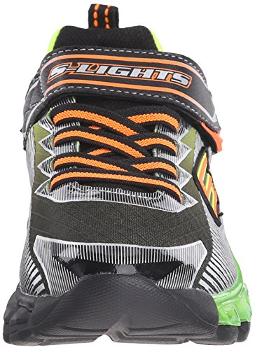 Skechers Jungen Flashpod Scoria Low-Top Schwarz (Bklm)
