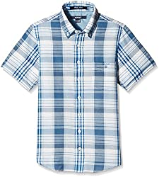 Gant Boys Shirt (GBSHF0022_Blue Melange_9- 10years)