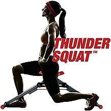 L'Original Thunder Squat. Pour revitaliser et renforcer la musculature des membres inférieurs. Appareil Fitness pour l'entraînement spécifique de jambes et fesses–exercice pour rassodare fesses, fondoschiena, chevaucher, élever tonificarli tonici Sodi sculpter côté B Workout Total Magic Fitness Ab plus to Booty Deluxe Body Trainer Leg Legs–0139