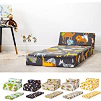 Shopisfy Children's Single Size Fold Out Z Bed Mattress - Diggers Design