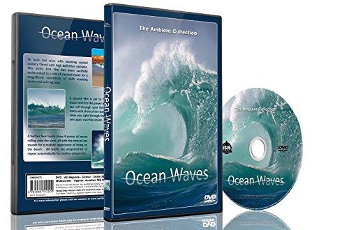 Natur DVD – Ozean Wellen mit natürlichen Klängen des Meeres (Kiesel Tuch)
