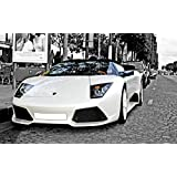 Printelligent Car Posters Car Posters Walls Car Posters For Boys Room Car Posters For Boys Car Posters Lamborghini Car Posters Mustang Car Posters Large Size ( 12 Inch X 18 Inch )