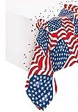 Nappe en plastique drapeau USA 137 x 213 cm - taille - Taille Unique - 233486