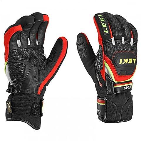 Leki World Cup Gloves Race Coach Flex S Gtx Black
