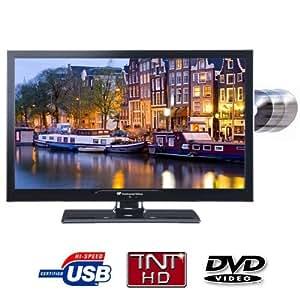 CONTINENTAL EDISON Direct LED TV Combo DVD