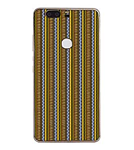 Fuson Designer Back Case Cover for Huawei Honor V8 (lines square box art artistic)