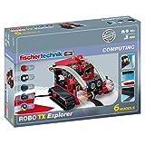 : fischertechnik COMPUTING ROBO TX Explorer, Konstruktionsbaukasten - 508778