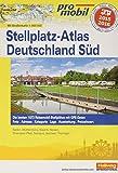 Deutschland Süd Stellplatz-Atlas 2015 (Hallwag Promobil)