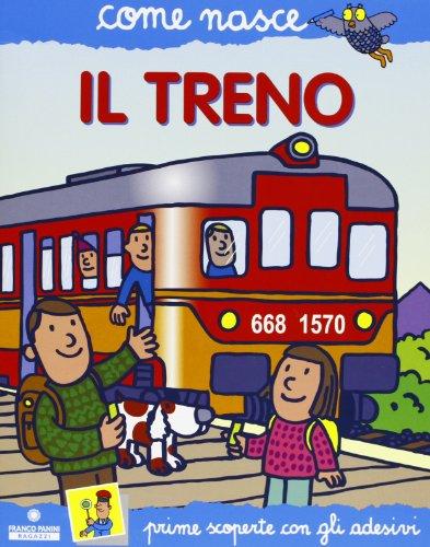 Il treno. Con adesivi