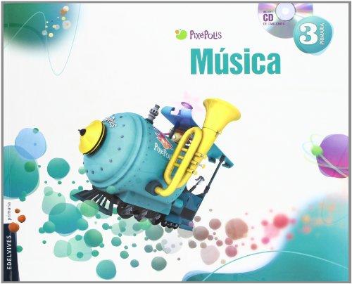 Música 3º Primaria (Pixepolis) - 9788426383167