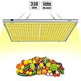 Pflanzenlampe Vollspektrums LED Relassy 300W Lichtleistung mit 338 LEDs, LED...