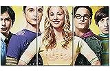 """WandbilderXXL ® Leinwandbild """"Big Bang Theory"""" 180x100cm - in 6 verschiedenen Größen. Gedruckt auf Leinwand und fertig gespannt auf Keilrahmen. Leinwandbilder zu Top Preisen."""