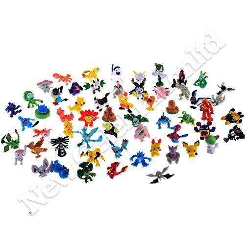 Image of 24pcs Pokemon Mini Figure Random Toys Action Figure Party Bag Fillers Buy From New Celebration
