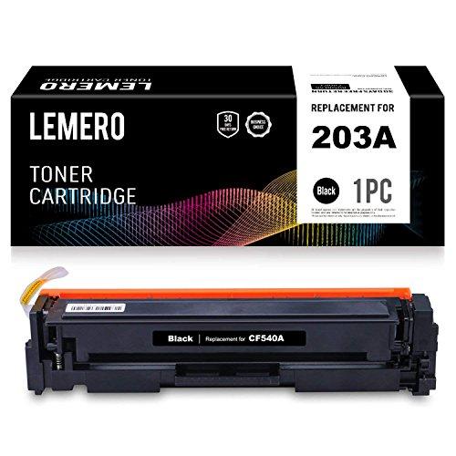LEMERO CF540A 203A XL Cartucho Toner Compatible HP