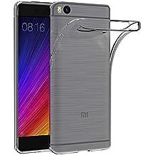 Funda Xiaomi Mi 5S, AICEK Xiaomi Mi 5S Funda Transparente Gel Silicona Xiaomi Mi 5S Premium Carcasa para Xiaomi Mi 5S