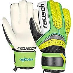 Guantes Portero Fútbol REUSCH Re: pPulse Re:Pulse Green Geco Yellow - Amarillo Seguridad, 8.5