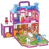 The Viyu Box Villa Doll House, Large (Multicolour)