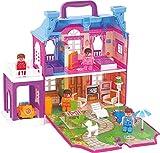 #10: My Little Dream Villa Doll House, Multi Color by The Viyu Box