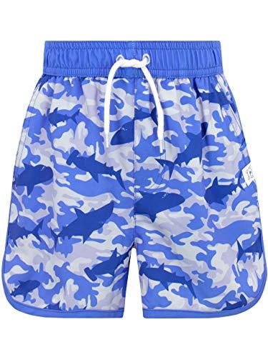 Harry Bear Bañador Niño Camuflaje Tiburones Azul