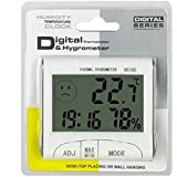 Mini Digital Weather Thermometer Hygrometer Humidity Meter Home Room Temperature Meter Indoor LCD Display Tools White