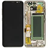 Original Samsung Galaxy S8 G950f LCD Display Service Pack Touchscreen Digitizer GH97-20457F gold