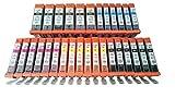 youprint 30 XL Patronen mit Chip Passend zu Canon PGI-550 CLI-551 Pixma Serie