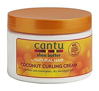 Cantu Shea Butter for Natural Hair Coconut Curling Cream 340 g by Cantu