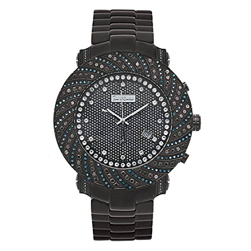 Joe Rodeo Diamant Homme Montre - JUNIOR noir 4.25 ctw