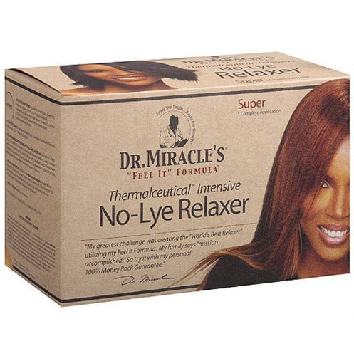 Dr. Miracles Relaxer No-Lye Super Kit by Dr. Miracles (English Manual)