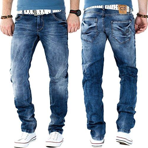 Cipo & Baxx -  Jeans  - straight - Uomo Blau