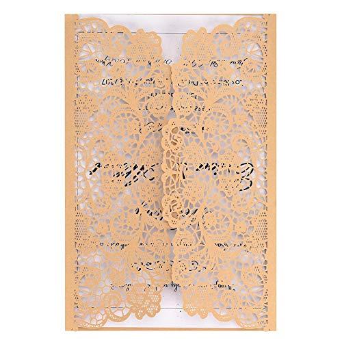 ngskarten Elegant Hochzeit Einladung Kits Geschäfts Einladungen Festival Grußkarten Geburtstag Taufe Party Einladung 10 STÜCKE ()