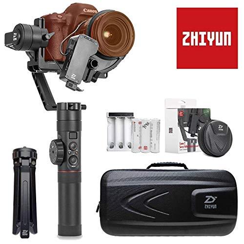 Zhiyun Crane 2 Kamera Gimbal, DSLR Stabilisator mit Follow Focus Spiegellose Handheld Camera Stabilizer 3-Achsen bis 3,2kg für Canon 80D 7D 6D 5D Mark Nikon D850 Z7 Z6 Sony A9 A7 Panasonic GH5 GH4 Digital-kamera-modul