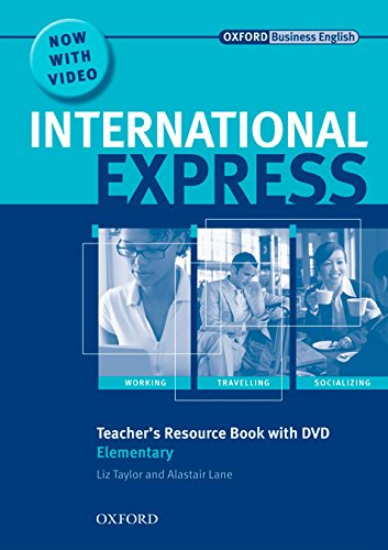 Portada del libro International Express Elementary. Teacher's Resource Book and DVD Pack 2nd Edition (International Express Second Edition)