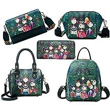 Sencillo Vida Bolsos Mochila Mujer Bolsos Desigual bolsos fiesta mujer Bolso de Viaje Forest Casual Backpack
