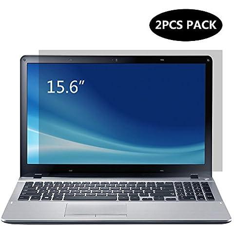 Portátil de 15,6pulgadas de cristal claro protector de pantalla, Forito ordenador portátil Protector de pantalla para HP, Dell, Asus, Acer, Sony, Samsung, Lenovo, Toshiba, Dispaly 16: 9((2unidades/paquete)