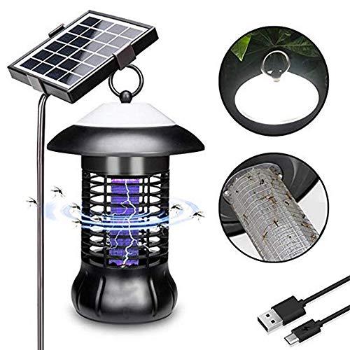 QSBY USB-Aufladung Outdoor-Moskito-Mörder wasserdicht 40 Quadratmeter Solarstromversorgung LED-Beleuchtung Geeignet für Villa Park Garden Community Camping -